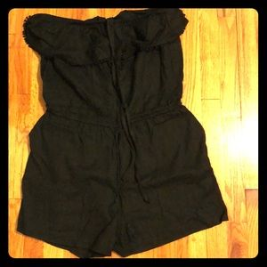 NEW! Summer Black Romper_Size L